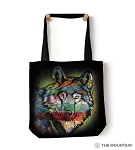 Painted Wolf - 97-6320 - Everyday Tote