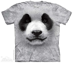 Big Face Panda - 15-3558 - Youth Tshirt