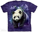 Panda Collage - 10-3322 - Adult Tshirt