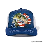 Patriotic Bass - 94-5870 - Trucker Hat