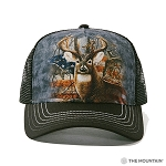Patriotic Buck - 94-3709 - Trucker Hat