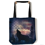 Patriotic Howl - 97-5971 - Everyday Tote