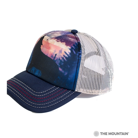 Patriotic Wolf Howl - 76-5971 - Trucker Hat 456f52997bb7