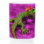 Peace Out Gecko - 57-3119-0901 - Coffee Mug