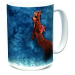 Peace Squirrel - 57-4007-0901 - Everyday Coffee Mug