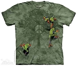 Peace Tree Frog - 10-2289 - Adult Tshirt