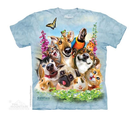 Pets Selfie - 15-4998 - Youth Tshirt