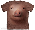 Pig Face - 10-3244- Adult Tshirt