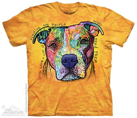 Dogs Have A Way Of Finding The People Who Need Them - 10-4176 - Adult Tshirt