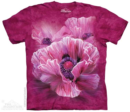 Poppies - 10-4960 - Adult Tshirt