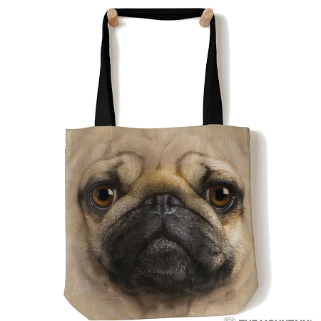 Pug Face - 97-3369 - Everyday Tote