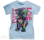 Puppy Luv - Ladies Fitted Tee