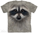 Raccoon Face - 15-3545 - Youth Tshirt
