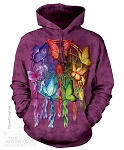 Rainbow Butterfly Dreamcatcher - Adult Hoodie