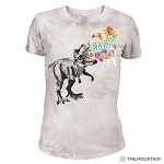 RAWR - 26-5828 - Women's Triblend Crew-Neck Tee