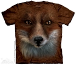 Big Face Fox - 15-3676 - Youth Tshirt