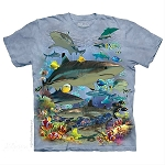 Reef Sharks - 10-5943 - Adult Tshirt