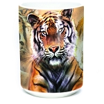 Resting Tiger Collage - 57-5889-0901 - Everyday Mug