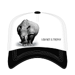 Rhino I Am Not a Trophy - 76-5552 - Trucker Hat