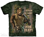I Reserve My Right To Arm Bears - 10-3980 - Adult  T-shirt