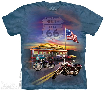 Route 66 - 10-3373 - Adult Tshirt