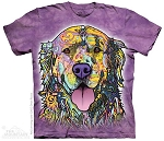 Russo Golden Retriever - 10-3855 - Adult Tshirt