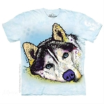 Russo Siberian Husky - 15-5926 - Youth Tshirt