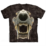 Sabertooth Skull - 10-5897 - Adult Tshirt