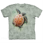 Sea Turtle Climb - 10-5947 - Adult Tshirt