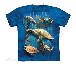 Sea Turtle Family - 15-4973 - Youth Tshirt