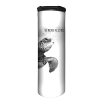 Sea Turtle No More Plastic - 59-5558 - Stainless Steel Barista Travel Mug