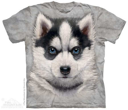 Siberian Husky Puppy - 15-3786 - Youth Tshirt