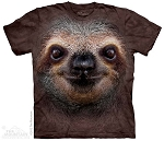 Sloth Face - 10-3596 - Adult Tshirt