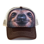 Sloth Portrait - 76-3596 - Trucker Hat