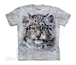 Snow Leopard Baby - 15-5743 - Youth Tshirt