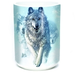 Snow Plow Wolf - 57-3673-0901 - Everyday Mug