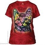 9 Lives...I'd Spend All 9 Lives With You - 28-5773 - Ladies Fitted Tee