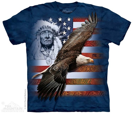 Spirit of America - 10-3599 - Adult Tshirt - Native American