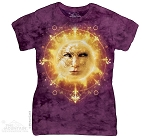 Sun Face - Ladies Fitted Tee