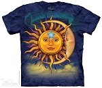 Sun Moon - 10-3352 - Adult Tshirt