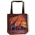 Sundown Giraffes - 97-5906 - Everyday Tote