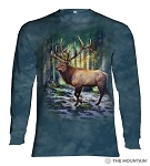 Sunlit Elk - 45-6185 - Adult Long Sleeve T-shirt
