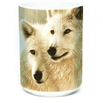 Sunlit Soulmates Wolves - 57-5908-0900 - Everyday Mug