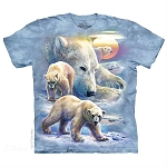 Sunrise Polar Bear - 15-5895 - Youth Tshirt