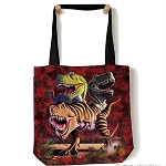 T-rex Collage - 97-3025 - Everyday Tote