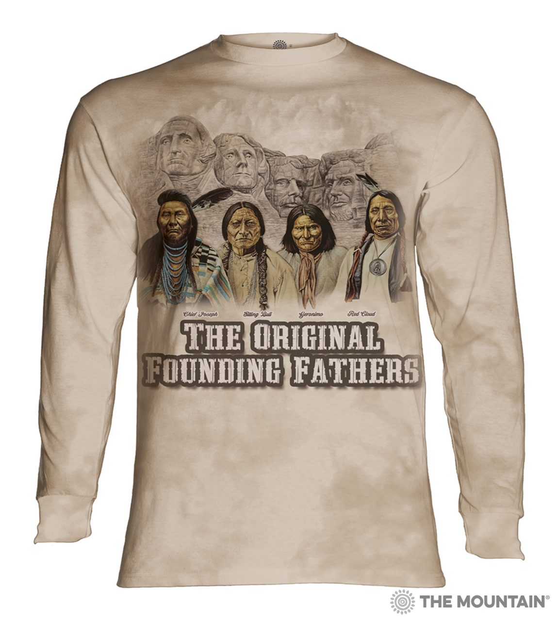 The Original Founding Fathers - 45-3615 - Adult Long Sleeve T-shirt