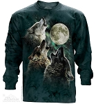 Three Wolf Moon - 45-2053 - Adult Long Sleeve T-shirt