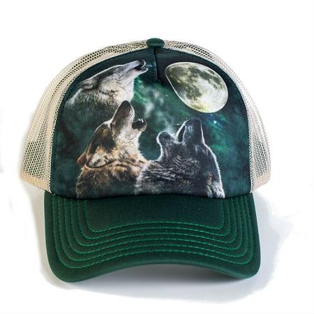 cf56a8414d5 Three Wolf Moon - 76-2053 - Trucker Hat