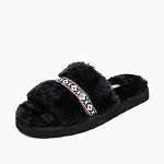 Minnetonka Moccasins 590001 - Women's London - Slipper - Black