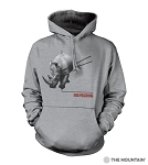 End Poaching Rhino- 72-5575 - Adult Hoodie